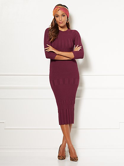 Eva Mendes Collection - Dasha Sweater Dress - New York & Company