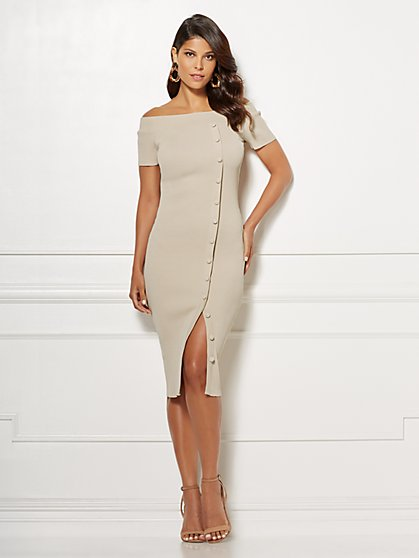 Eva Mendes Collection - Daveena Midi Dress - New York & Company