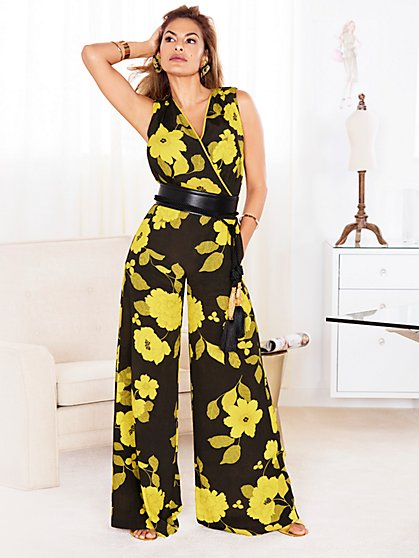 Eva Mendes Collection - Diana Corset Jumpsuit - New York & Company