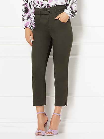Eva Mendes Collection - Ellie Ankle Pant - New York & Company