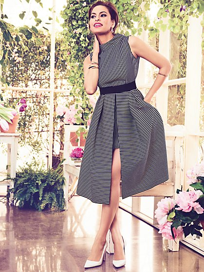 Eva Mendes Collection - Freya Fit & Flare Dress - New York & Company
