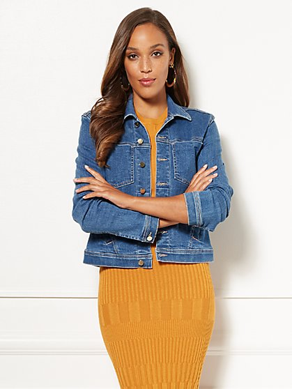 Eva Mendes Collection - Halle Denim Jacket - New York & Company