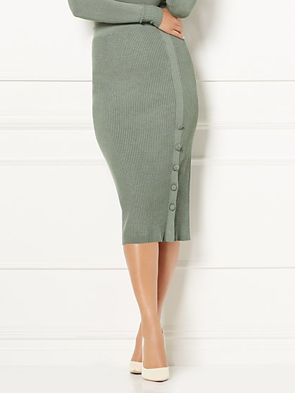 Eva Mendes Collection - Haven Sweater Skirt - New York & Company