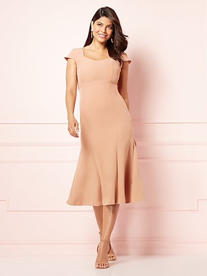 Eva Mendes Collection - Hoda Cutout Flare Dress - New York & Company