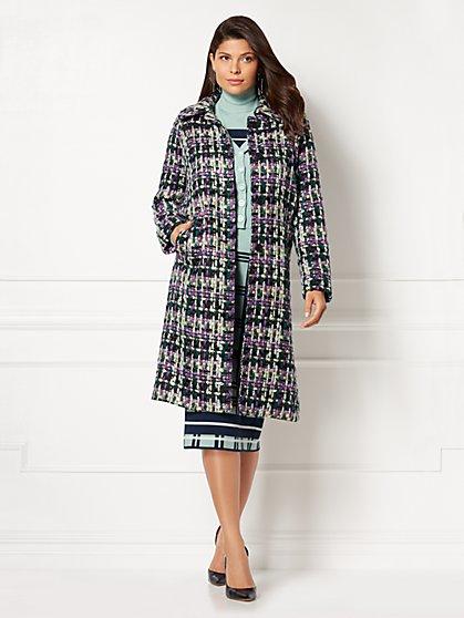 Eva Mendes Collection - Jenia Tweed Coat - New York & Company