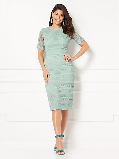 Eva Mendes Collection - Julietta Lace Sheath Dress - New York & Company