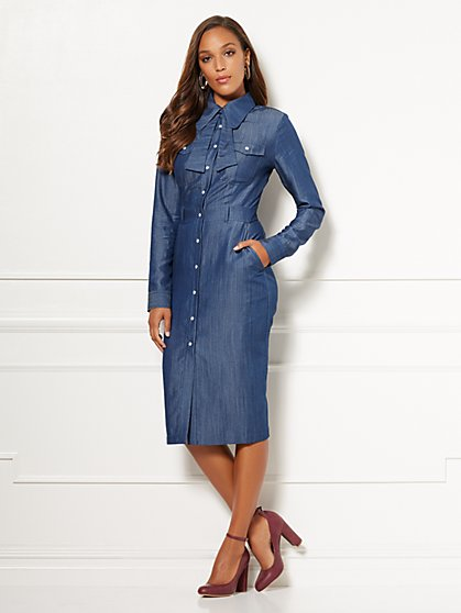 Eva Mendes Collection - Kiera Shirtdress - New York & Company