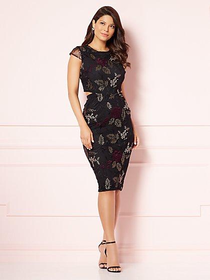 Eva Mendes Collection - Leona Cutout Sheath Dress - New York & Company