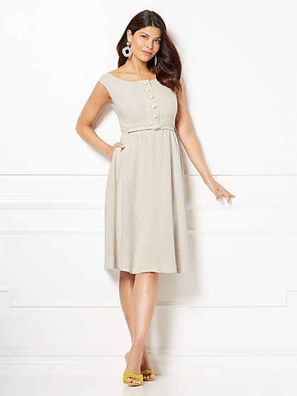 Eva Mendes Collection - Mackenzie Linen Sundress - New York & Company