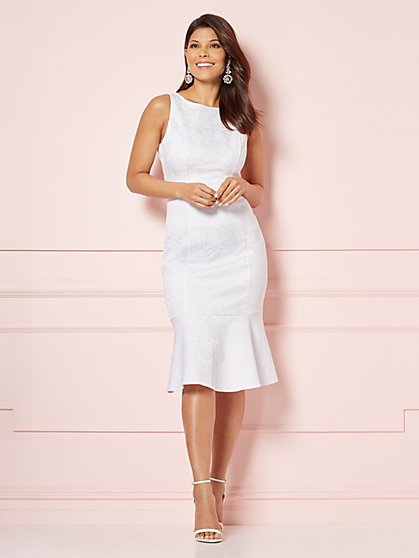Eva Mendes Collection - Maria Mermaid-Hem Dress - New York & Company