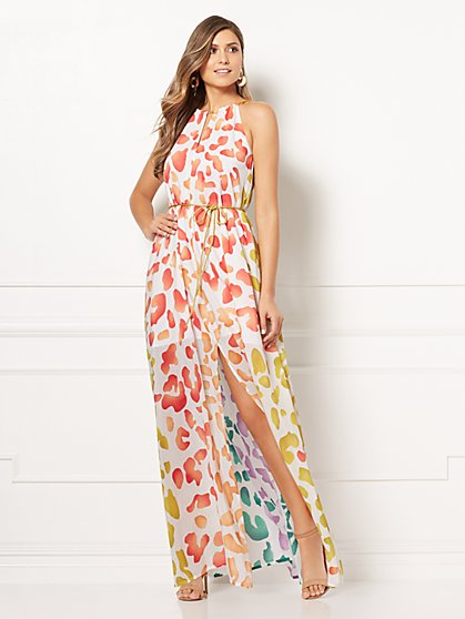 Eva Mendes Collection - Maritza Halter Maxi Dress - New York & Company