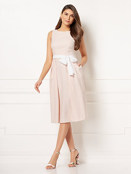 Eva Mendes Collection - McKayla Flare Dress - New York & Company