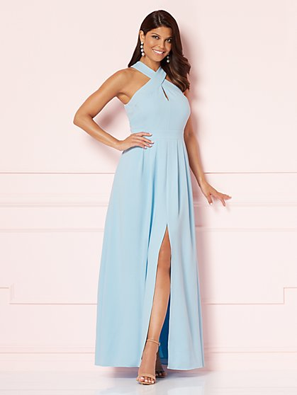 Eva Mendes Collection - Miguelina Halter Maxi Dress - New York & Company