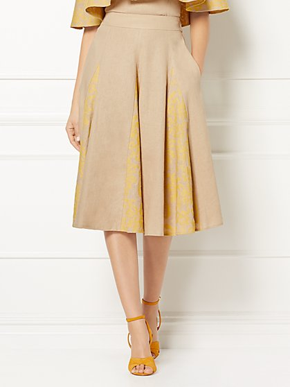 Eva Mendes Collection - Mira Linen Skirt - New York & Company