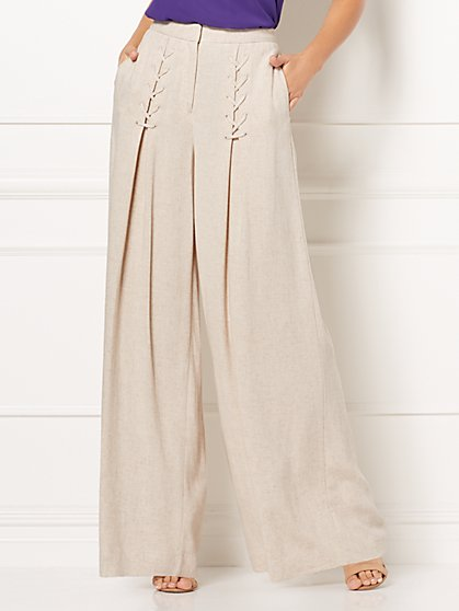 Eva Mendes Collection - Morgan Wide-Leg Pant - New York & Company