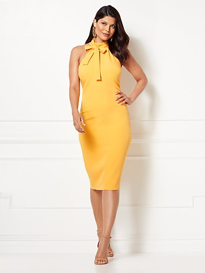 Eva Mendes Collection - Nicole Halter Sheath Dress - New York & Company
