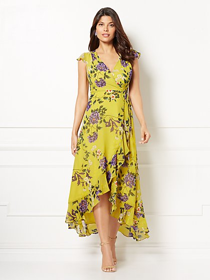 Eva Mendes Collection - Noelle Wrap Dress - New York & Company