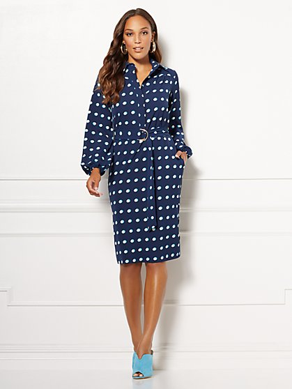 Eva Mendes Collection - Patrice Shirtdress - New York & Company