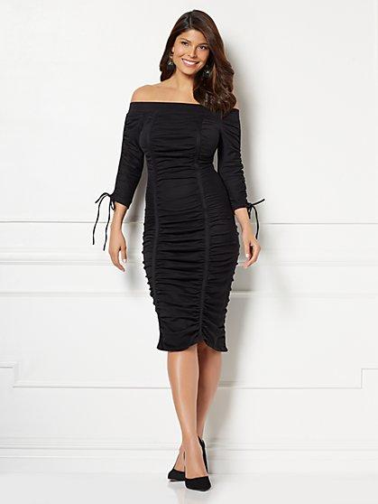 Eva Mendes Collection - Patrizia Off-The-Shoulder Dress - New York & Company