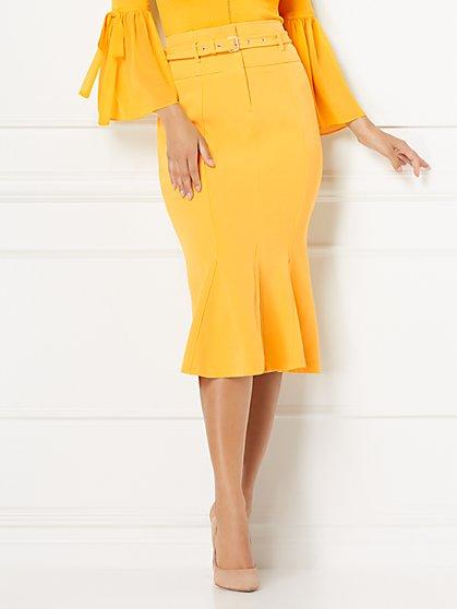 Eva Mendes Collection - Paula Flounced Skirt - New York & Company