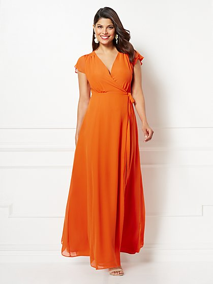 Eva Mendes Collection - Petite Allison Maxi Dress - New York & Company