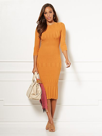 Eva Mendes Collection - Petite Dasha Sweater Dress - New York & Company