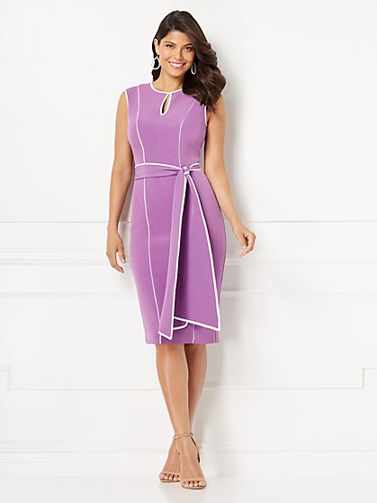 Eva Mendes Collection - Petite Jaclyn Sheath Dress - New York & Company