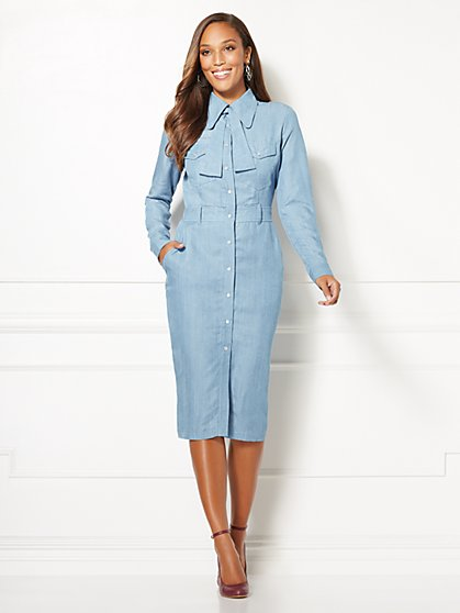 Eva Mendes Collection - Petite Kiera Shirtdress - New York & Company