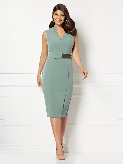 Eva Mendes Collection - Petite Leandra Sheath Dress - New York & Company