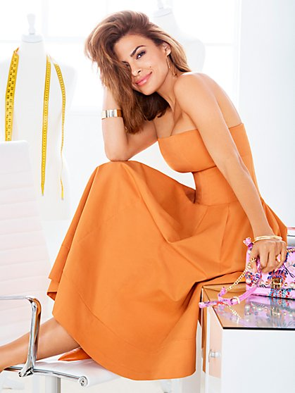 Eva Mendes Collection - Petite Liv Strapless Dress - New York & Company