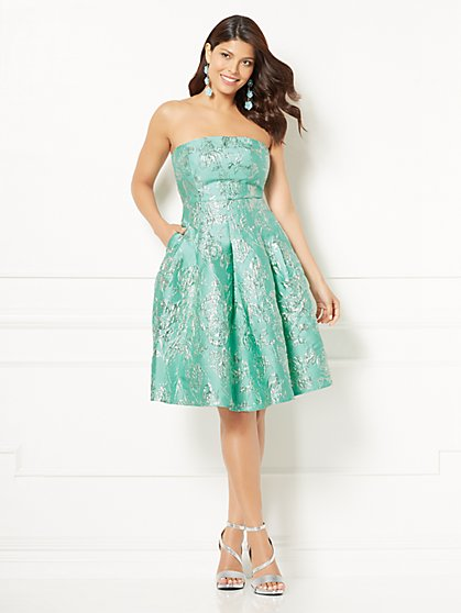 Eva Mendes Collection - Petite Marcie Strapless Dress - New York & Company
