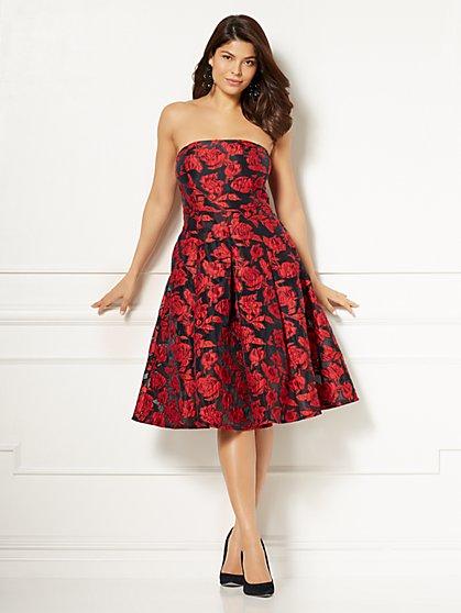 Eva Mendes Collection - Petite Rosabella Strapless Dress - New York & Company