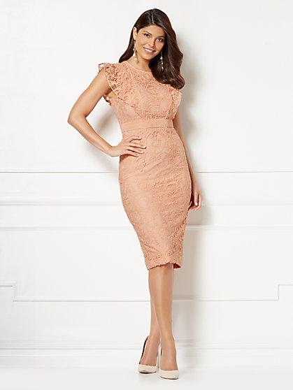 Eva Mendes Collection - Petite Roxanna Lace Sheath Dress - New York & Company