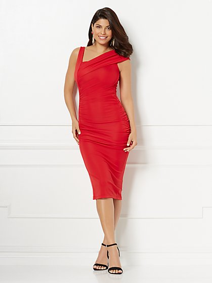 Eva Mendes Collection - Priyanka One-Shoulder Dress - New York & Company
