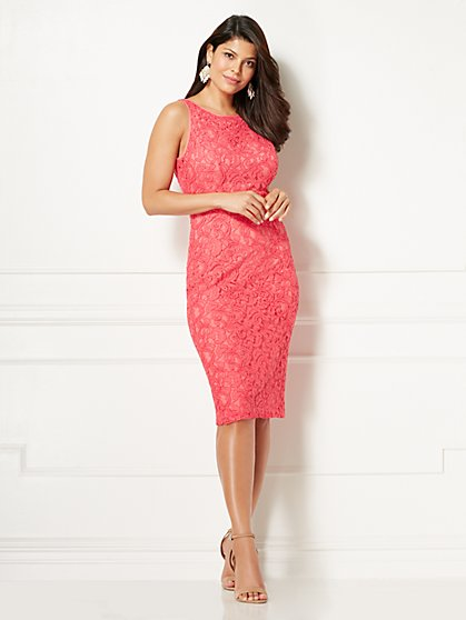 Eva Mendes Collection - Rosalinda Lace Sheath Dress - New York & Company