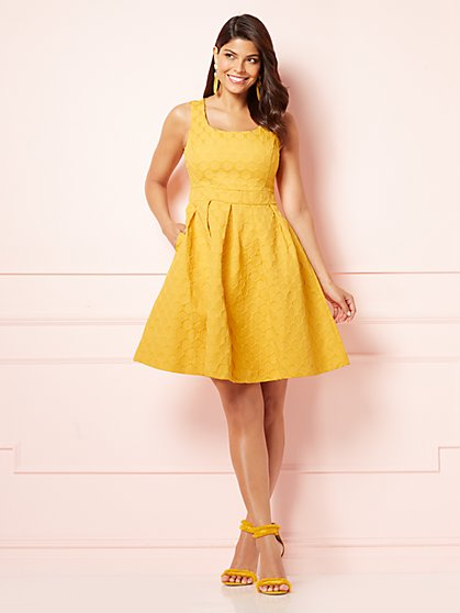 Eva Mendes Collection - Shoshanna Fit and Flare Dress - New York & Company