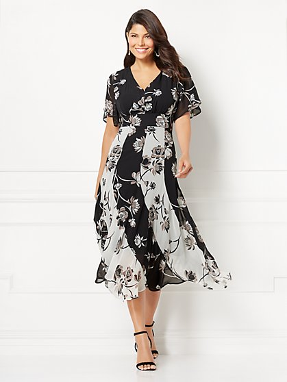 Eva Mendes Collection - Sylvia Maxi Dress - New York & Company