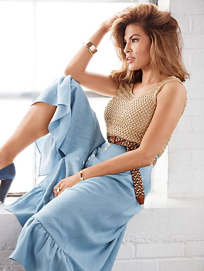 Eva Mendes Collection - Tall Tia Full Skirt - New York & Company