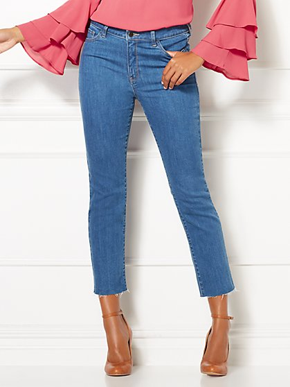 Eva Mendes Collection - Tania Ankle Jean - New York & Company