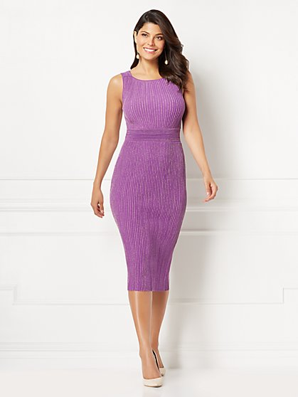 Eva Mendes Collection - Tianna Sweater Dress - New York & Company