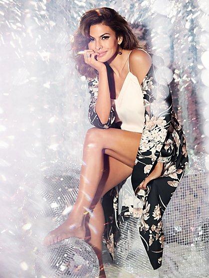 Eva Mendes Collection - Tina Robe - Floral - New York & Company