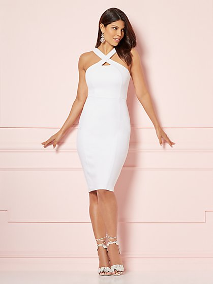 Eva Mendes Collection - Vivica Halter Sheath Dress - New York & Company