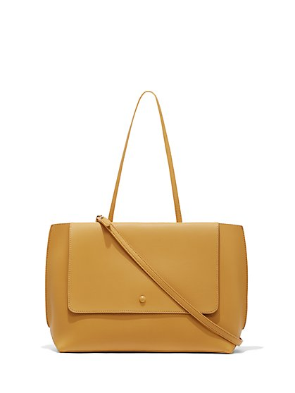 Eva Mendes Collection - Yellow Crossbody Bag - New York & Company