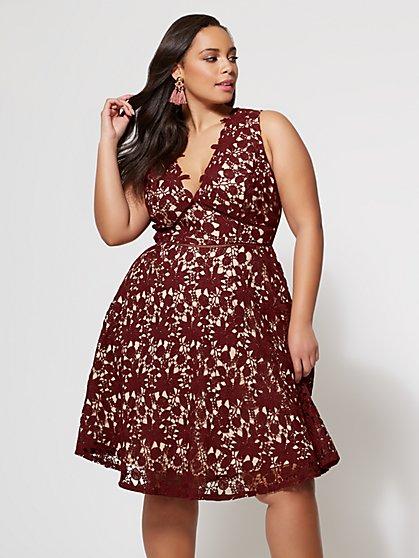 FTF Amelia Lace Dress - New York & Company