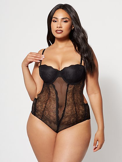 FTF Audrey Lace Teddy - New York & Company