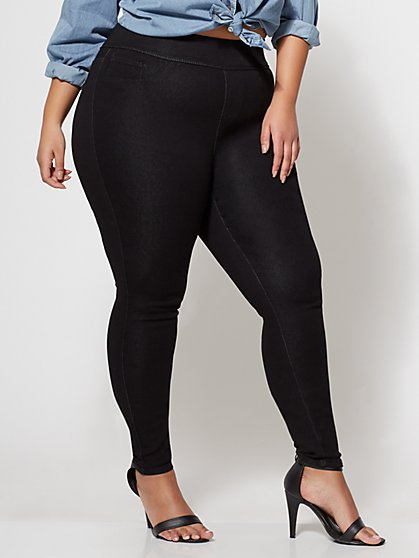 FTF Classic Black Jegging - New York & Company