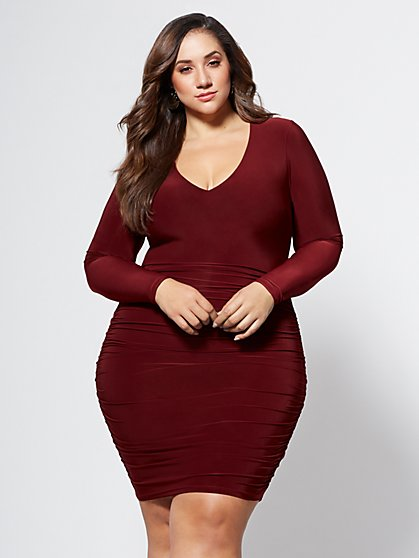 Plus size cocktail dresses for cheap
