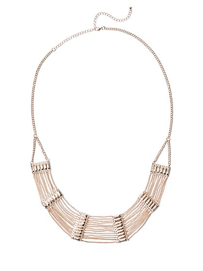 FTF Curb Chain Necklace - New York & Company