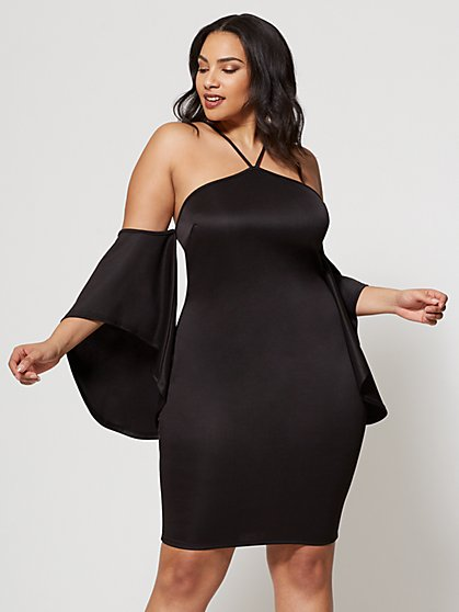 FTF Drama Sleeve Dress - New York & Company