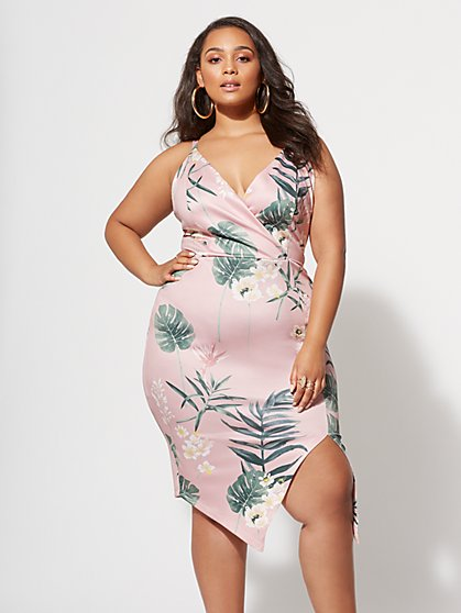 FTF Elana Floral Dress - New York & Company